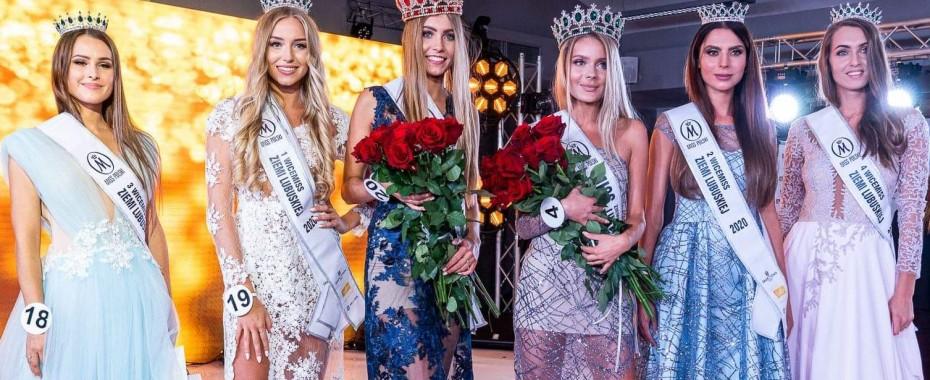 Miss Ziemi Lubuskiej 2020: Julia Gryczan z Gorzowa, na zdjęciu czwarta od lewej