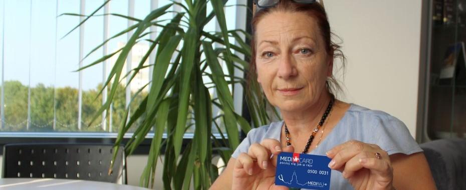Pani Renata Gołębiowska - zwyciężczyni od kilku tygodni może korzystać ze swojej wygranej